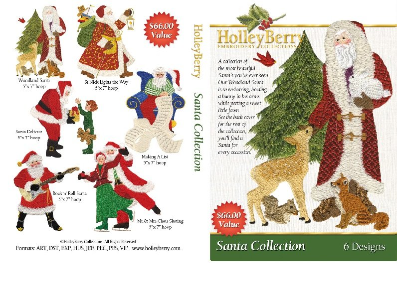 HolleyBerry Santa Collection