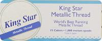 King Star Metallic Thread
