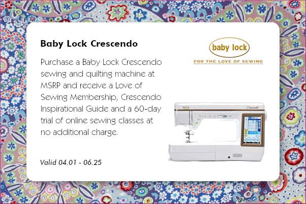 Baby Lock Crescendo