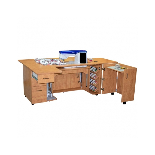 Horn of America Sewing Cabinets - Model 8090 Sewing Cabinet