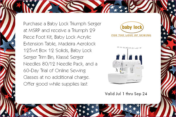 Baby Lock Triumph