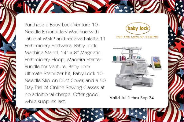 Baby Lock Venture