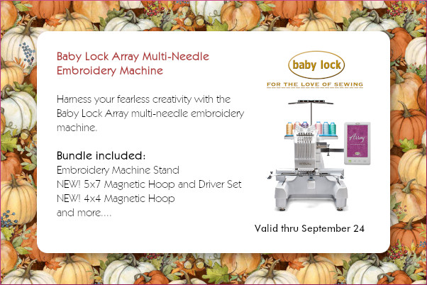 Baby Lock Array