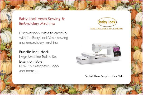 Baby Lock Vesta